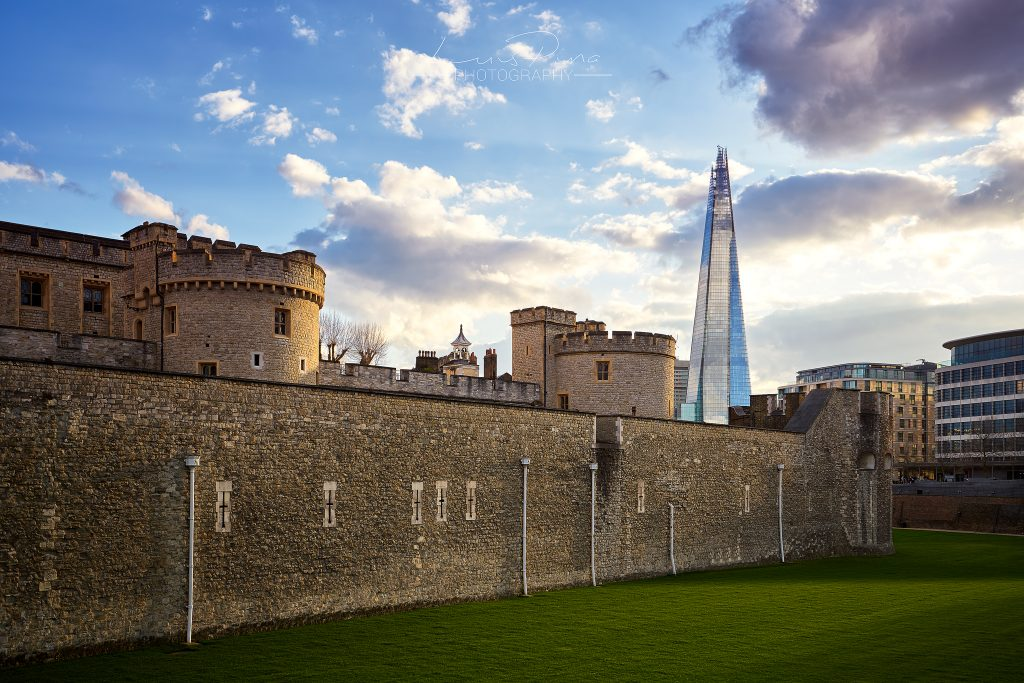 The Shard and the Tower of London