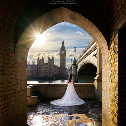 Noiva em Fuga, Londres – Atrás das Cenas