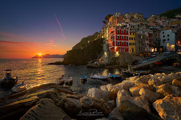 Riomaggiore-Sunset