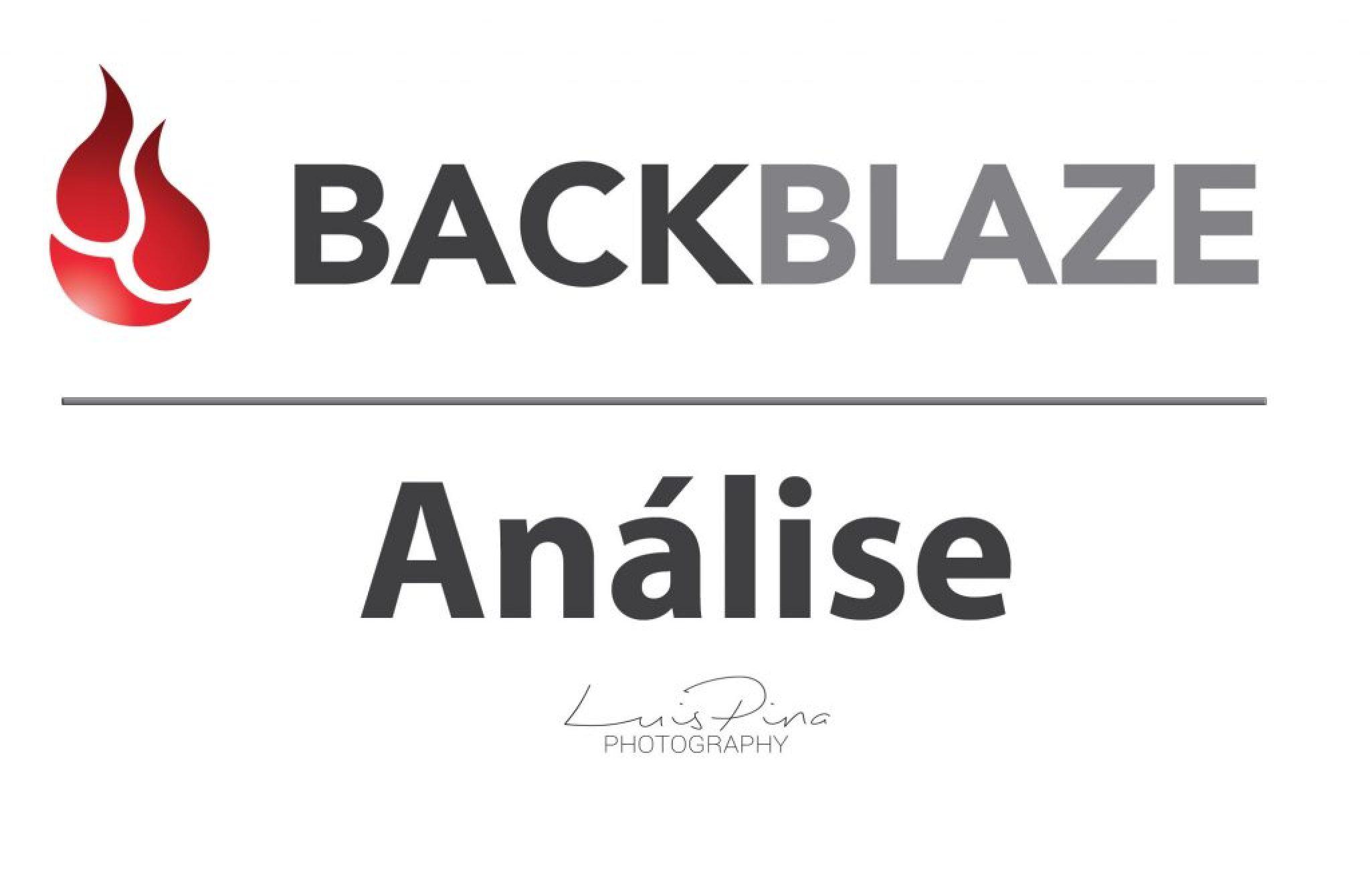 Backblaze Análise