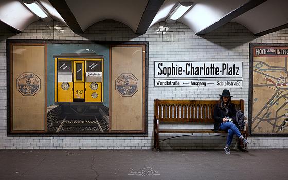 Sophie Charlotte Platz Subway Station