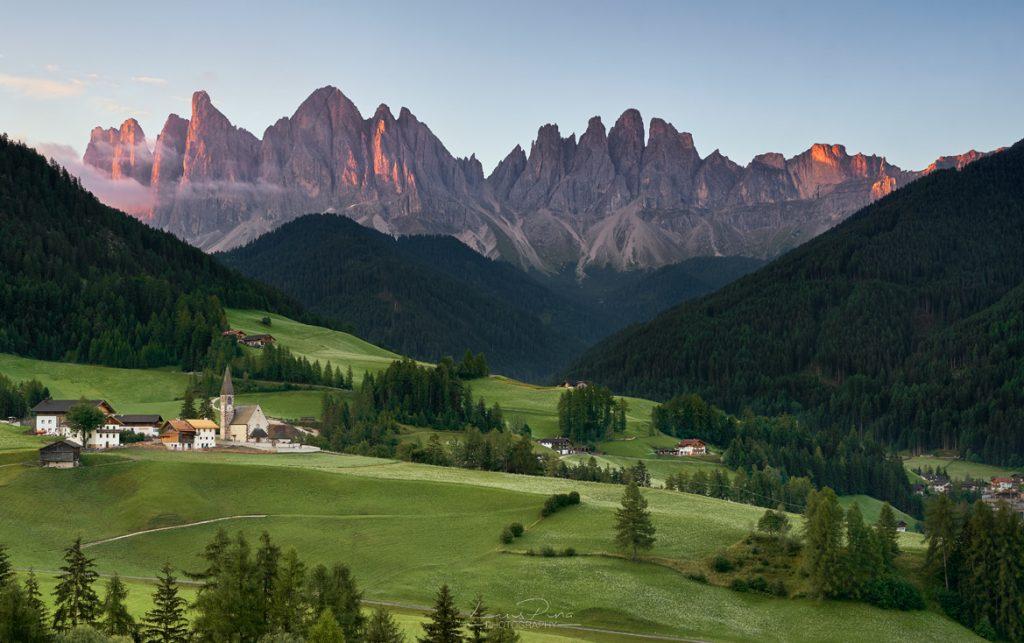 Dolomites Santa Maddalena