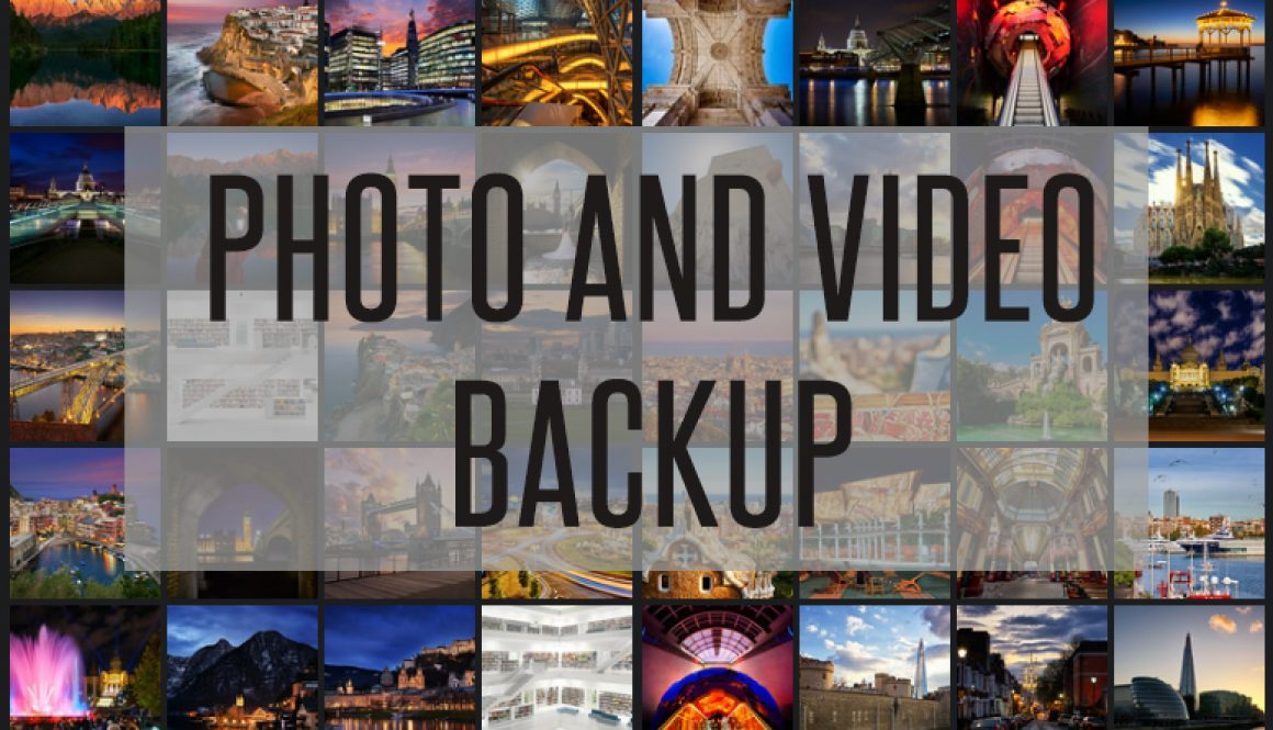 Backup Photos and Videos