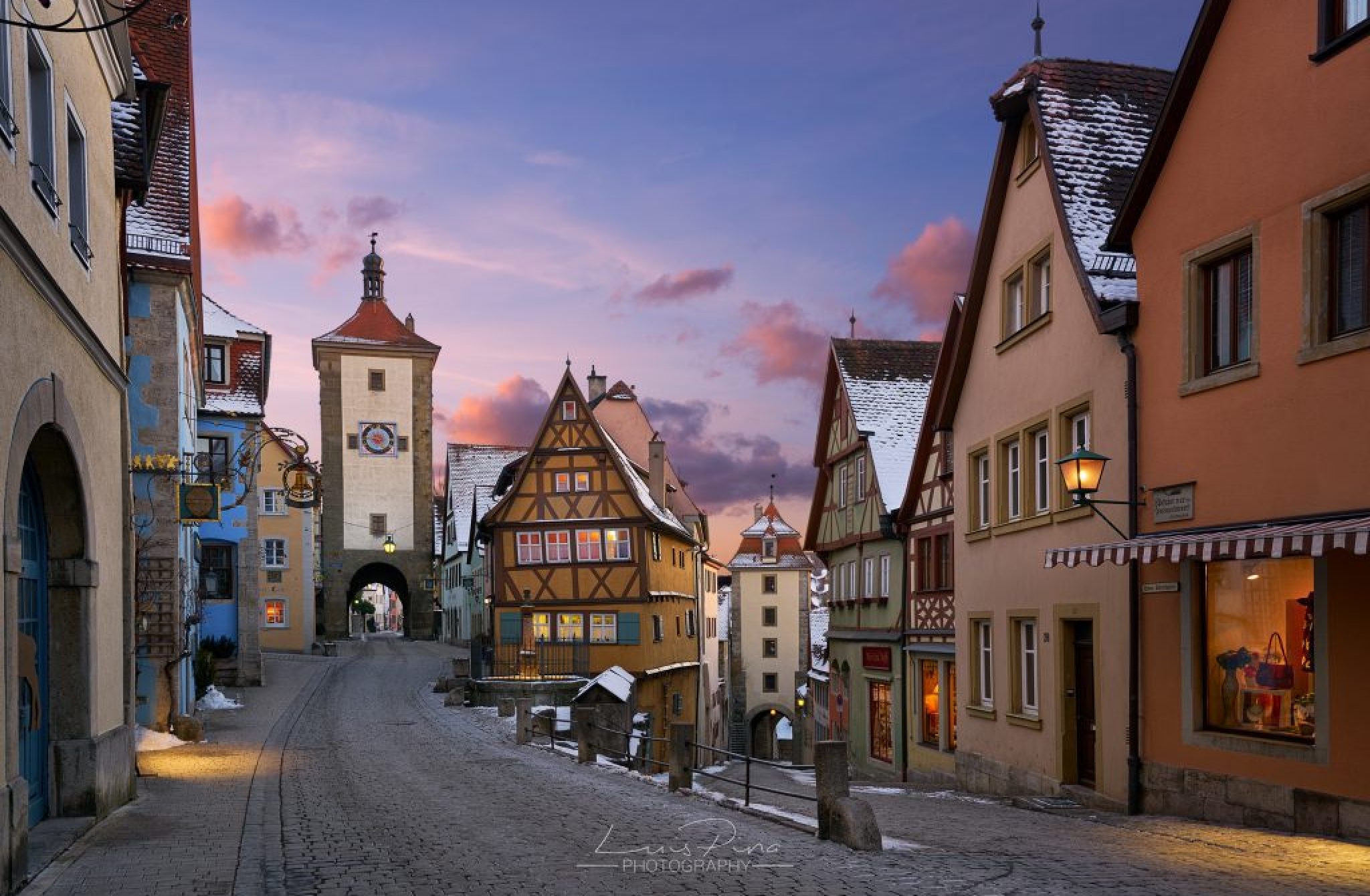 Travel on Rothenburg, Bamberg and Würzburg
